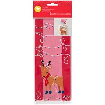 Wilton Party Bags Reindeer pk/20