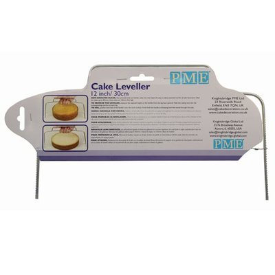 PME Cake Leveller Small & Taartzaag 30 cm