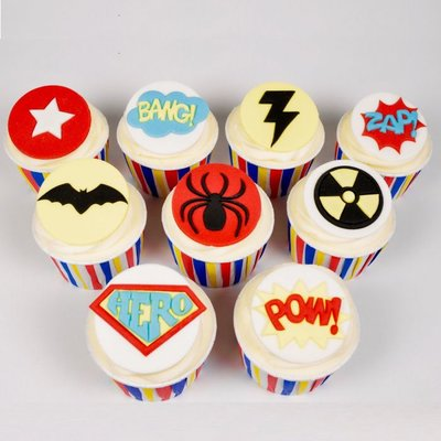 FMM Superhero Tappit Set