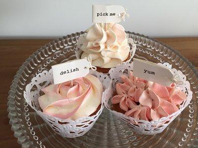 Workshop Cupcakes decoreren met spuitmondjes