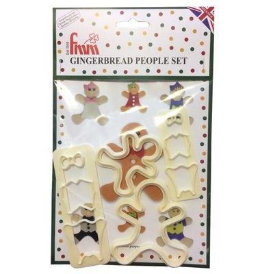 FMM Gingerbread People Cutter Set