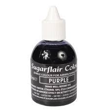 Sugarflair Airbrush Kleurstof Paars 60ml