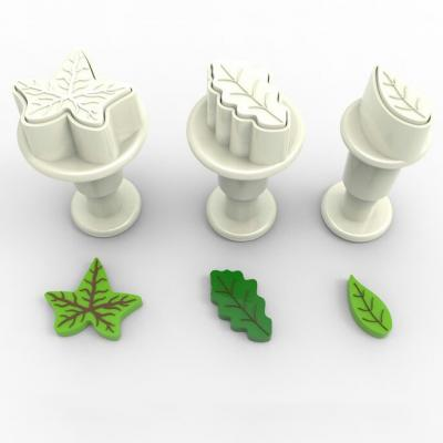 Dekofee Mini Plungers Leaves set/3