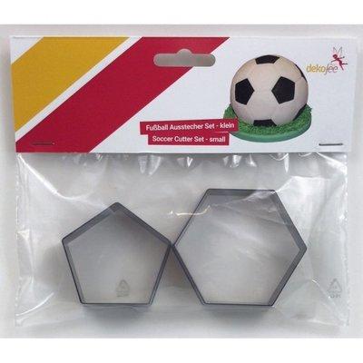 Dekofee Voetbal Uitsteker Klein Set/2