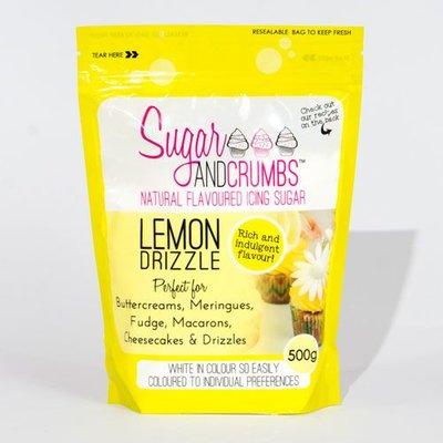 Sugar and Crumbs Icing Sugar -Lemon Drizzle- 500g
