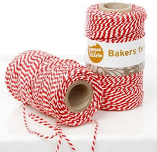 House of Marie bakers twine red