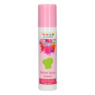 Funcakes Funcolours Velvet Spray Groen 100ml