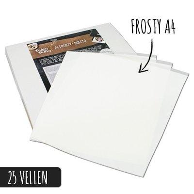 Frosty sheets Prints on Pastry pk/25