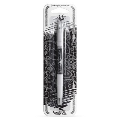 Rainbow Dust Food Art Pen Black