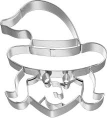 Birkmann Witch's face frontal Cookie cutter 8cm