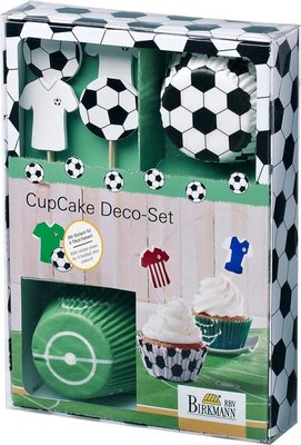 Birkmann Cupcake set Kick it -24st