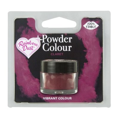 RD Powder Colour Red - Claret