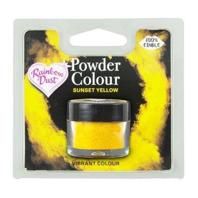 RD Powder Colour Yellow - Sunset Yellow