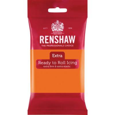 Renshaw Rolfondant Extra 250g Orange