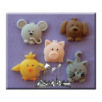Alphabet Moulds - cute animals