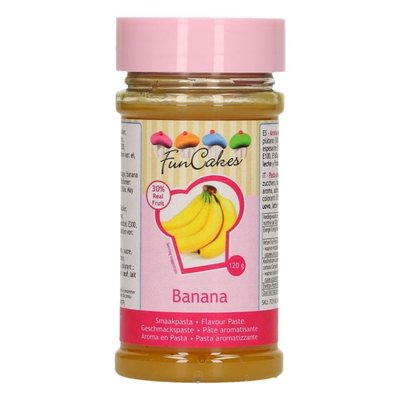 Funcakes smaakpasta banaan 120gr