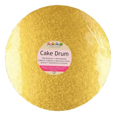 FunCakes Cake Drum Rond Ø30,5cm Goud