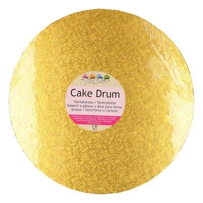 FunCakes Cake Drum Rond Ø25cm Goud
