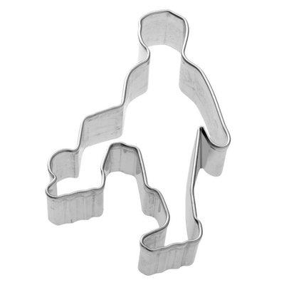 Birkmann Football player cookie cutter 7cm