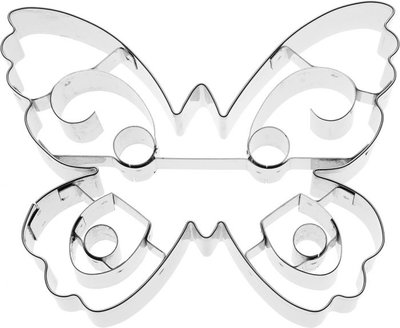 Birkmann butterfly cookie cutter 10cm