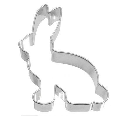 Birkmann rabbit sitting cookie cutter 7cm