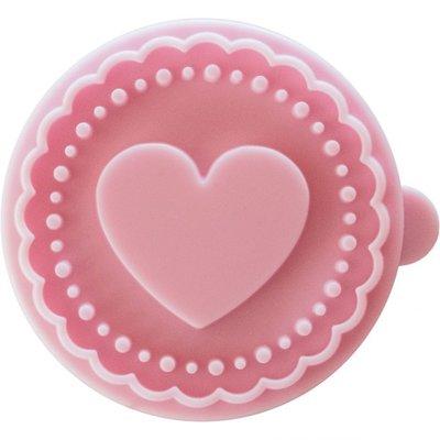 Birkmann cookie stamp heart Ø 7 cm