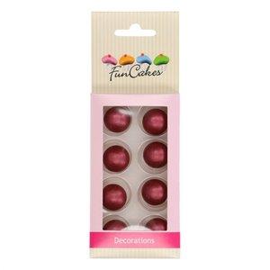 Funcakes Pearl Choco Balls Ruby Set/8