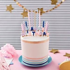 Wilton Flower Candle Set/25