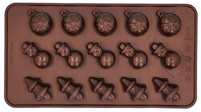 Birkmann Chocolade Mal Merry Christmas Set/2