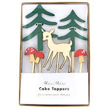 Meri Meri Woodland Cake Topper