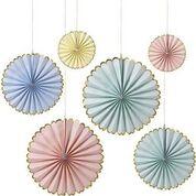 Meri Meri Pastel & Gold Pinwheels