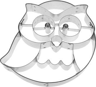 Birkmann Frido the Owl Cookie cutter 10cm