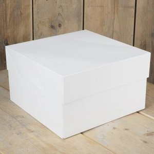 FunCakes Taartdoos -Blanco 35x35x15cm- pk/1